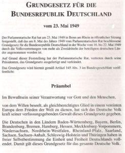 Das Grundgesetz ist die hauptsächliche Quelle des bundesdeutschen Verfassungsrechts. Rechtsanwalt Hummel vertritt Sie gerne in diesem Rechtsbereich.